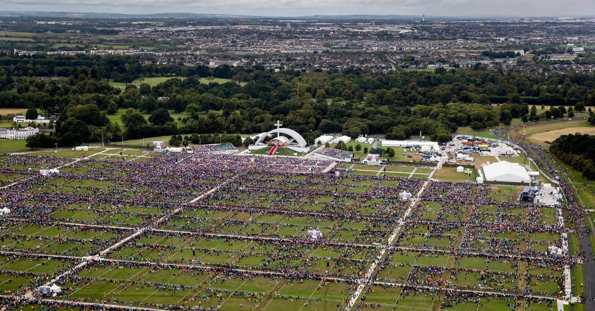 Barely Anyone Showed Up To See The Pope's Mass In Ireland