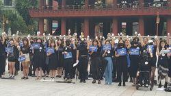 여성 125명이 최초로 '임신중단약' 복용 퍼포먼스 펼치며 한 말들