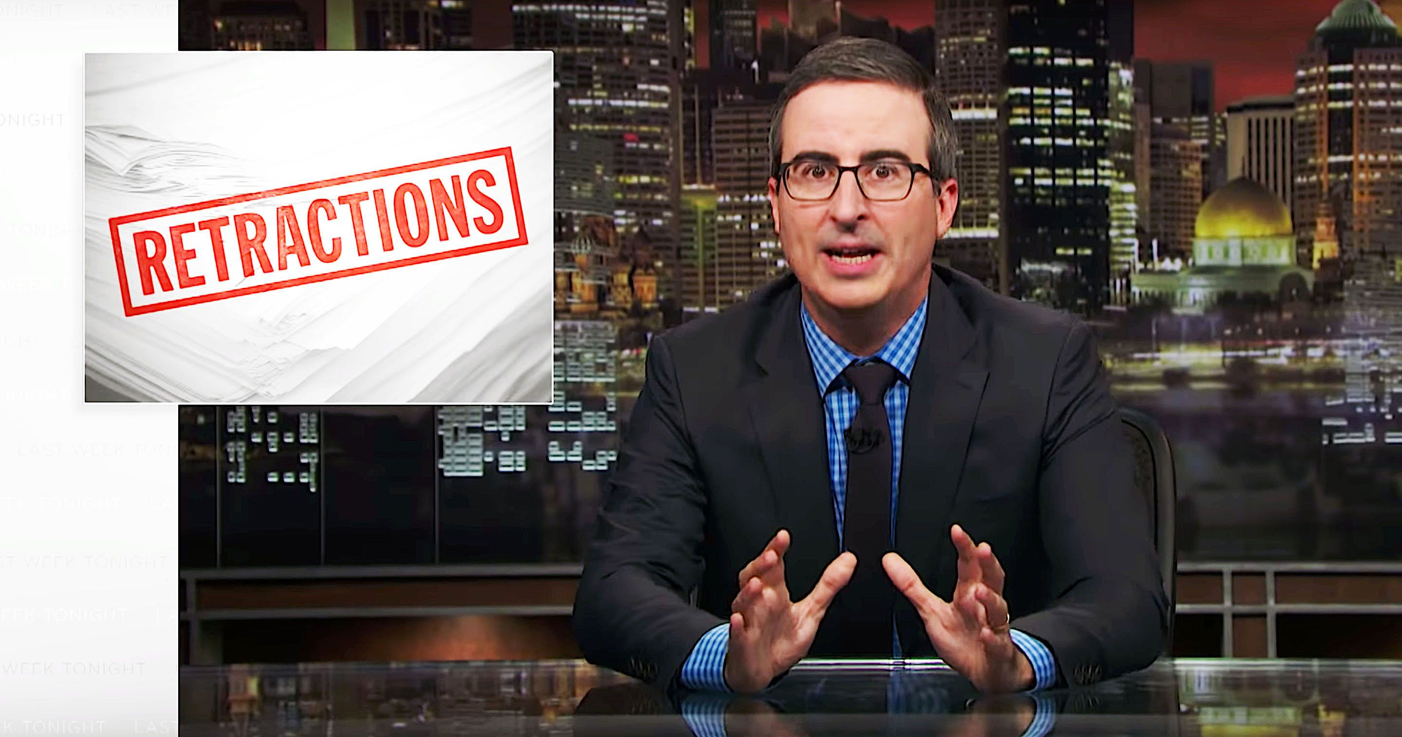 John Oliver Corrects The Record: MySpace Is Not Back