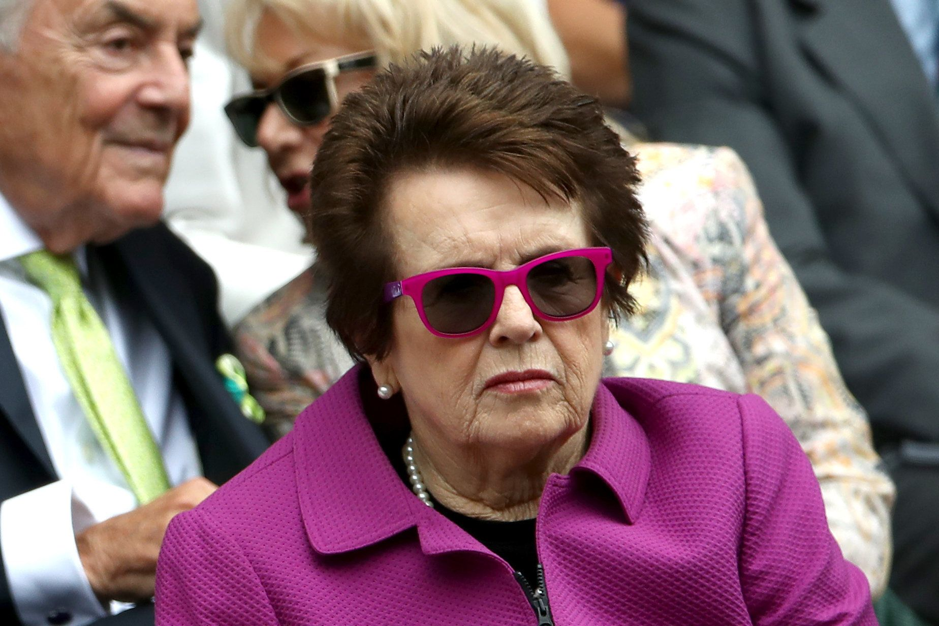 "Tennis legend Billie Jean King wants French tennis officials to ""stop policing women's bodies."""