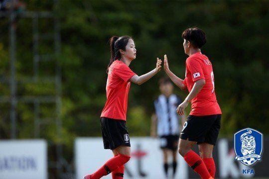 아시안게임 여자축구 준결승전 대진표가 심상치