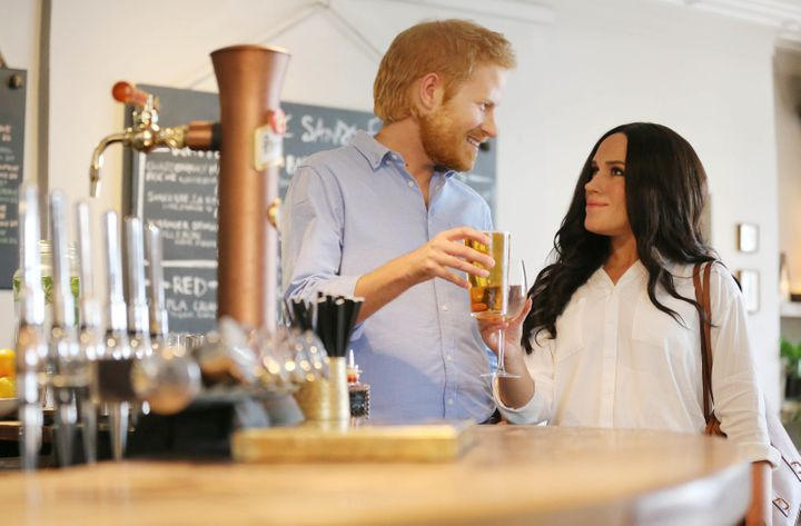 Just sharing a drink with a loved one while gazing unblinkingly into each other's eyes, as you do.
