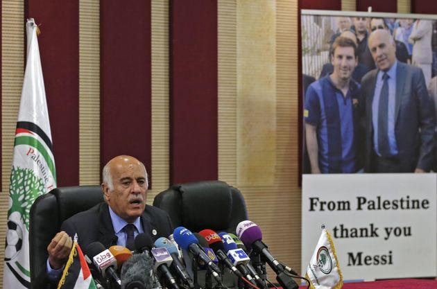 Le président de la fédération palestiniennesanctionné par la
