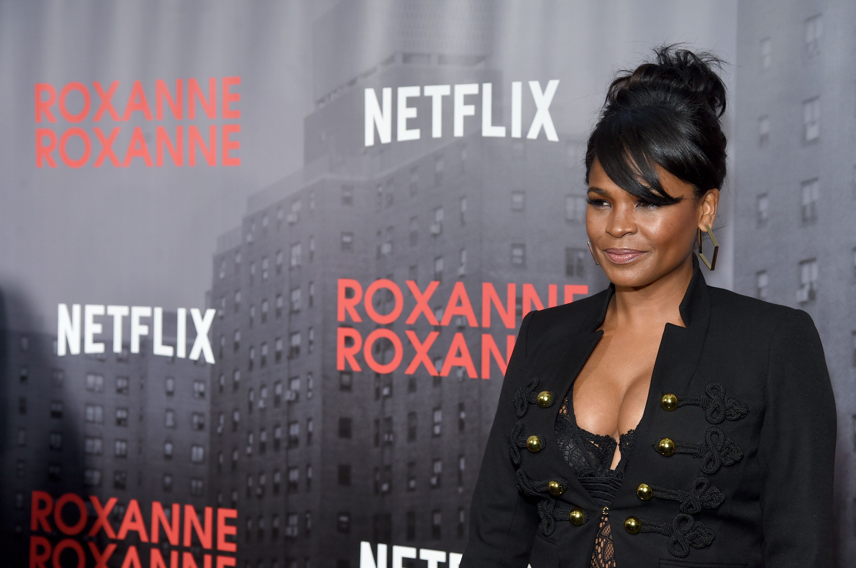 NEW YORK, NY - MARCH 19:  Actor Nia Long attends a special screening of the Netflix film 'Roxanne Roxanne' at the SVA Theater on March 19, 2018 in New York City.  (Photo by Jamie McCarthy/Getty Images for Netflix)