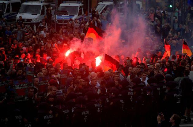 Kritik am Einsatz der Polizei in Chemnitz: