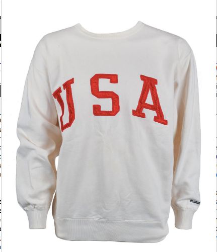 The Ralph Lauren sweatshirt up for auction.&nbsp