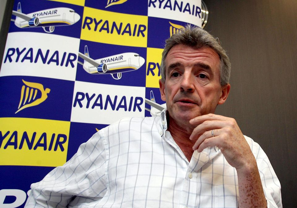 Ryanair boss Michael