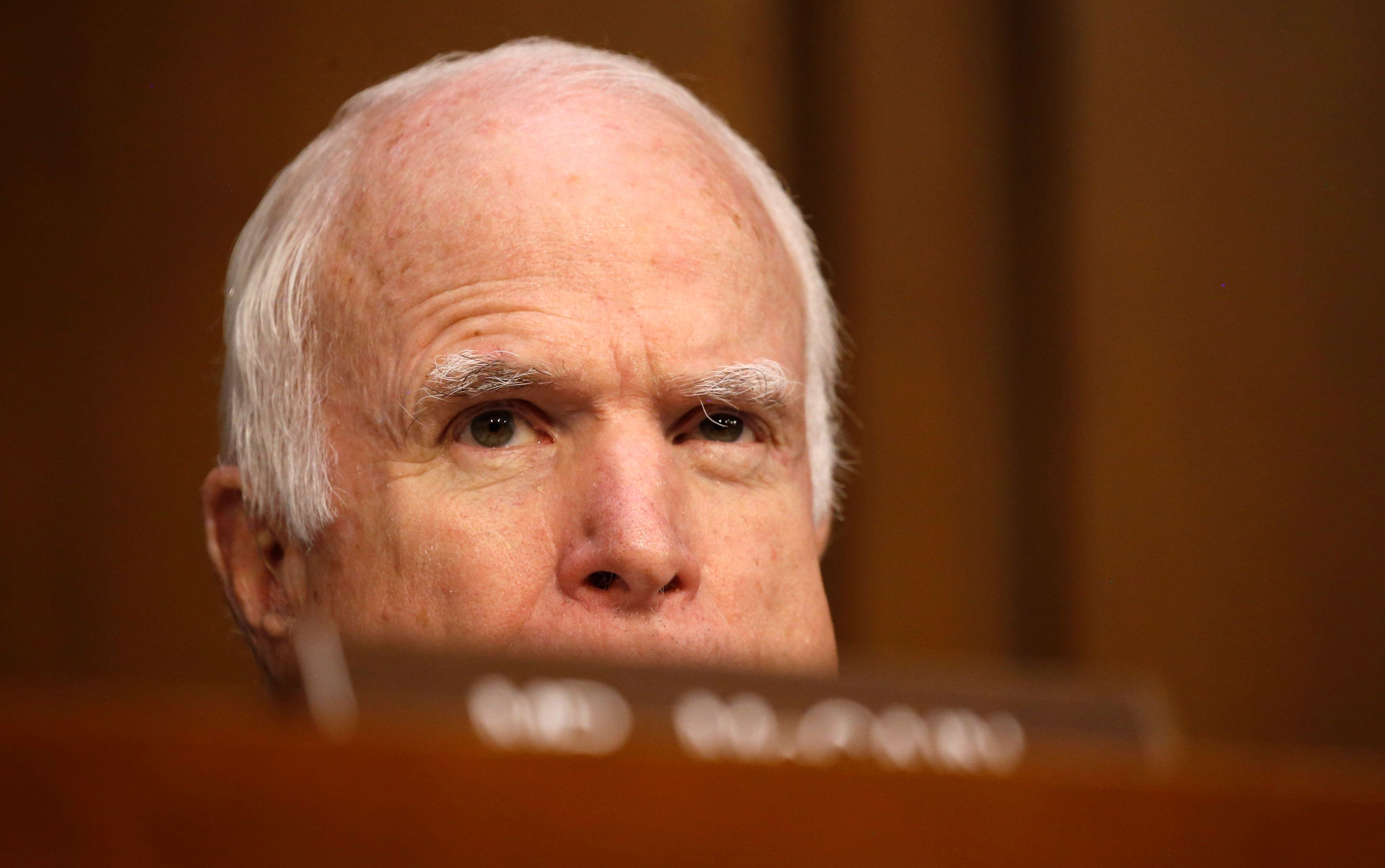 Support builds for plan to rename Senate building for John McCain