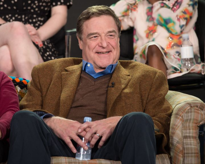 John Goodman pictured at the ABC Television Group's Winter Press Tour earlier this year.