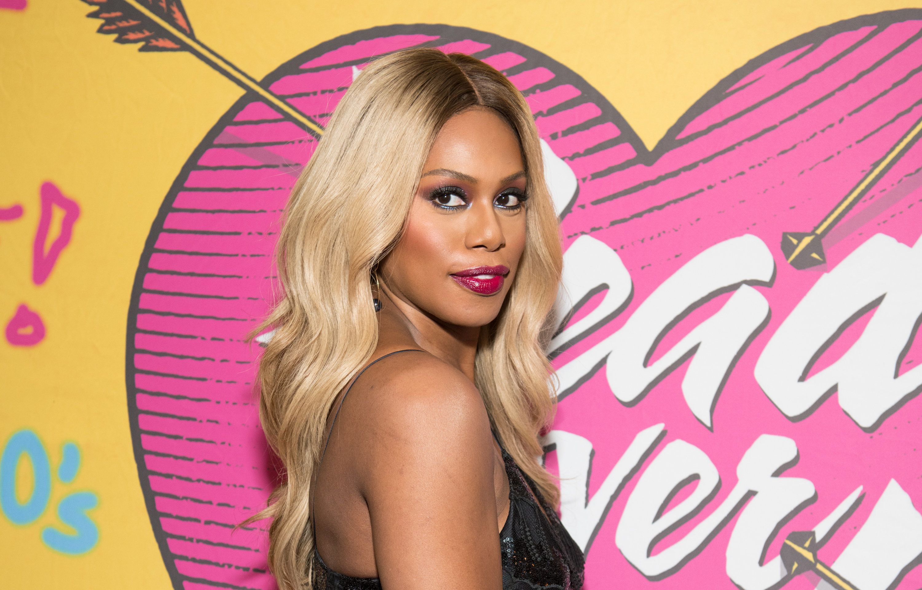 Laverne Cox at the Hudson Theatre last month in New York.