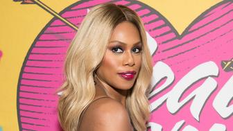 NEW YORK, NY - JULY 26:  Laverne Cox attends the opening night of 'Head Over Heels' on Broadway at Hudson Theatre on July 26, 2018 in New York City.  (Photo by Noam Galai/Getty Images)