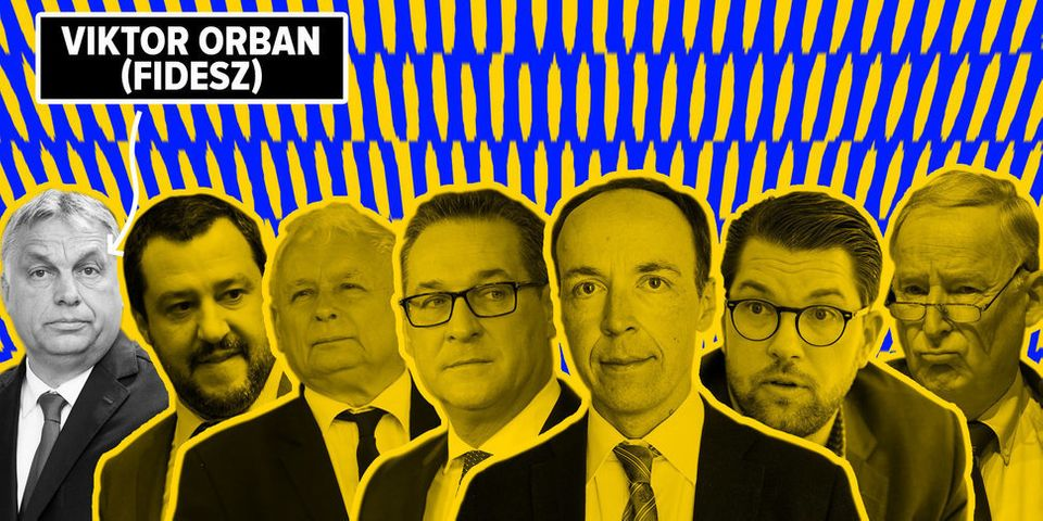 유럽을 분열시키고 있는 극우 정치인들 총력
