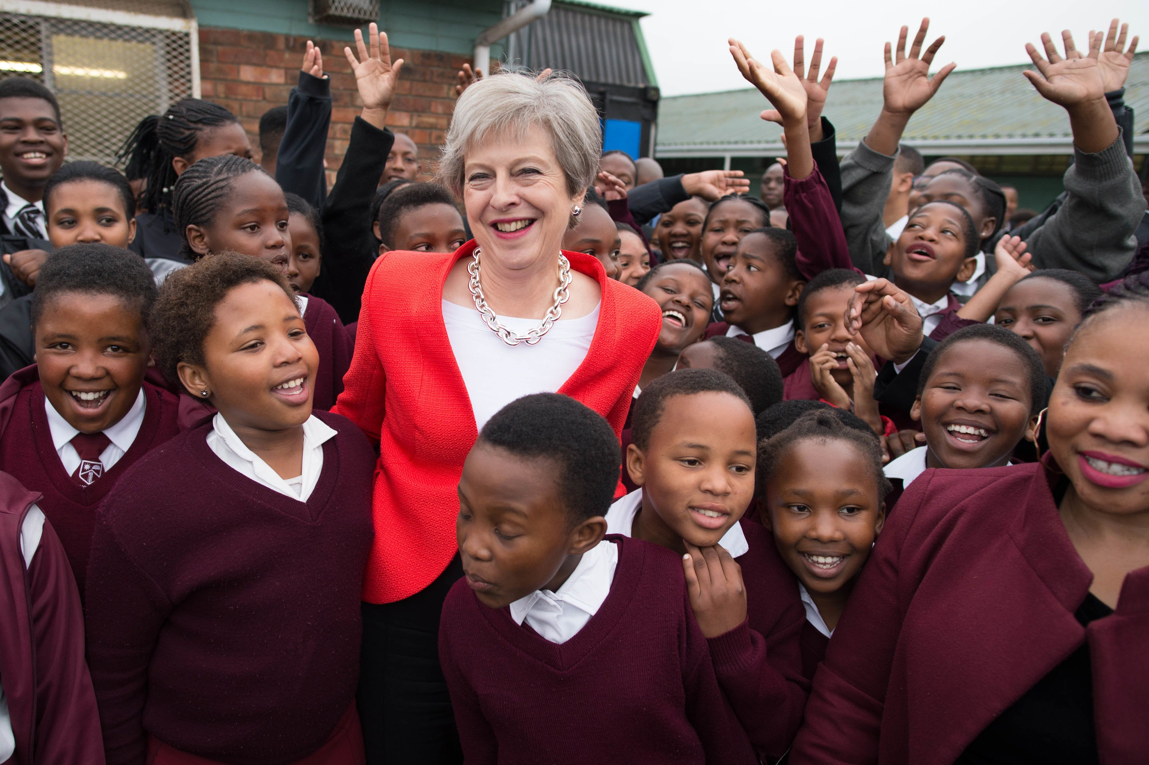 Theresa May Has Been Dancing With Schoolchildren And Everyone Is