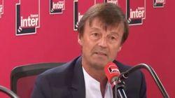 Quelques minutes avant l'émission sur France Inter, Hulot n'était pas encore sûr d'annoncer sa