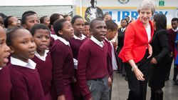 Theresa May Dances With Kids In South
