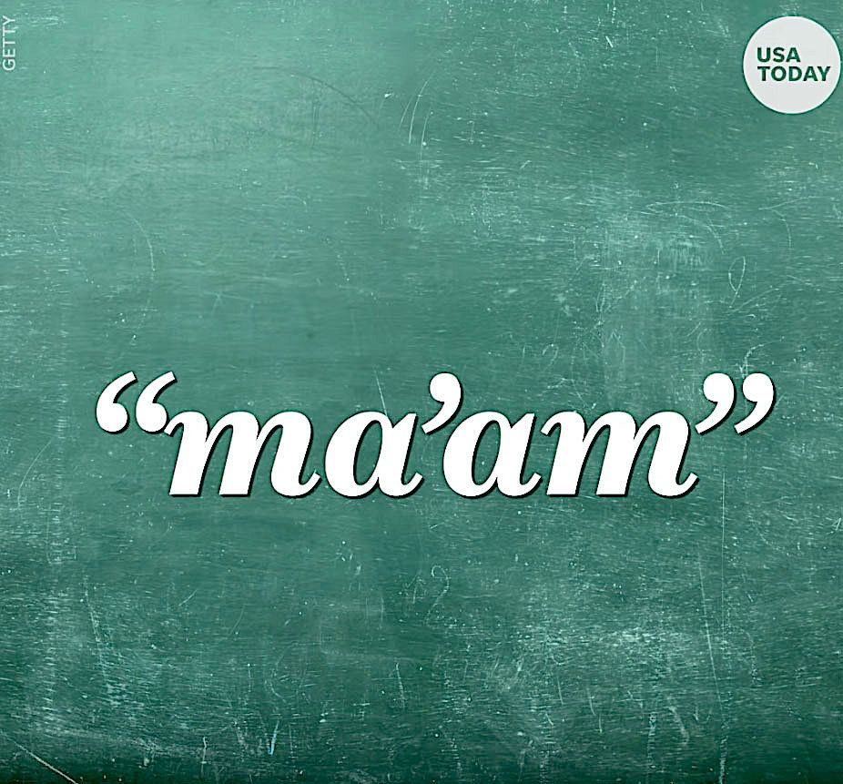 A 10-year-old boy was punished for calling his teacher maam