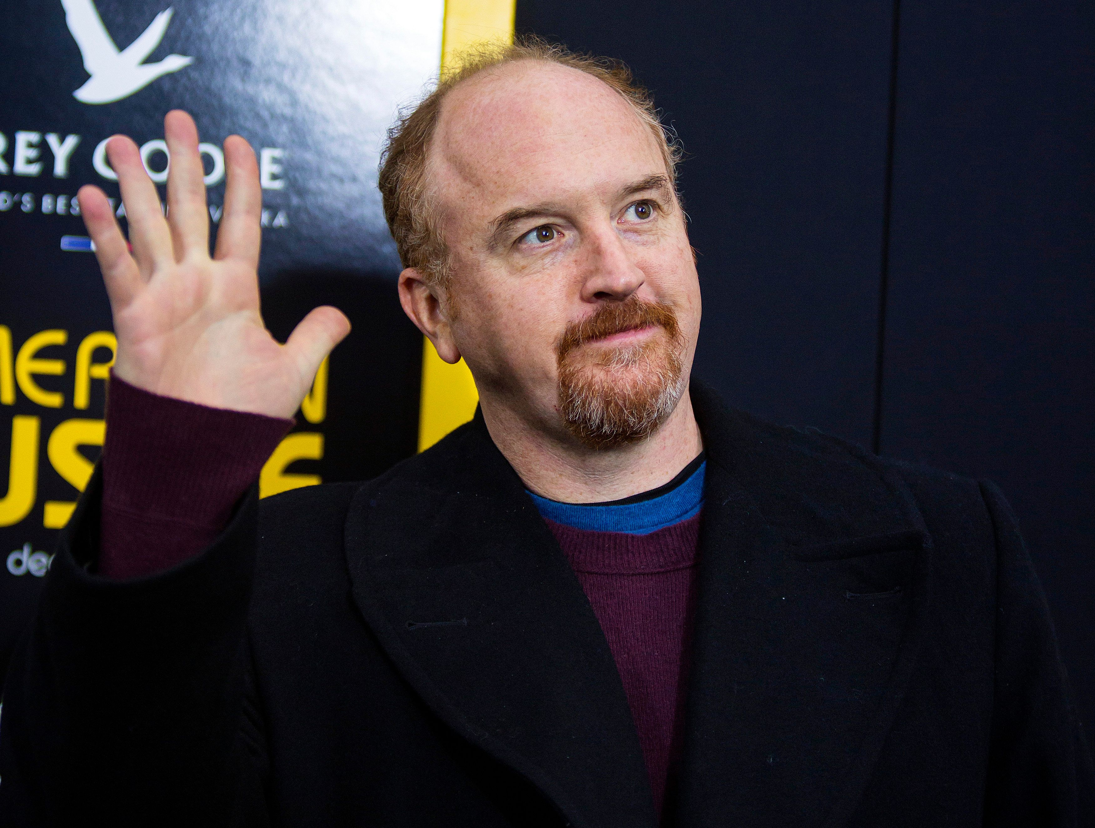 """Cast member Louis C.K. attends the """"American Hustle"""" movie premiere in New York December 8, 2013. REUTERS/Eric Thayer (UNITED STATES - Tags: ENTERTAINMENT)"""