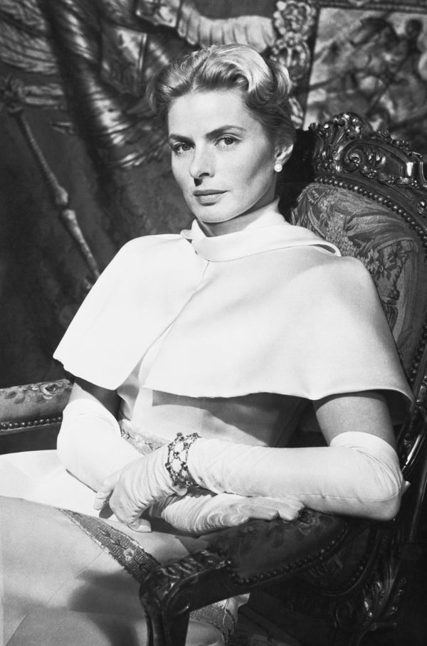 Ingrid Bergman as heir to the Russian throne in Anastasia, directed by Anatole Litvak, 1956.