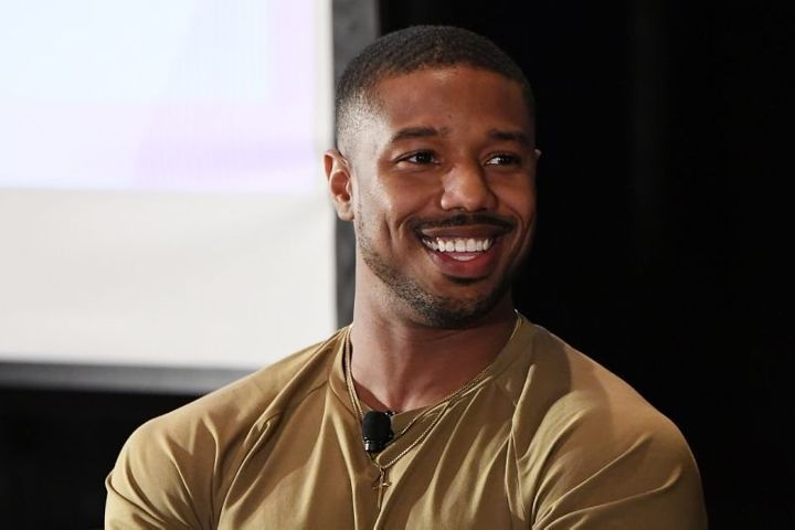 Michael B. Jordan made a surprise stop at a school in Alabama.