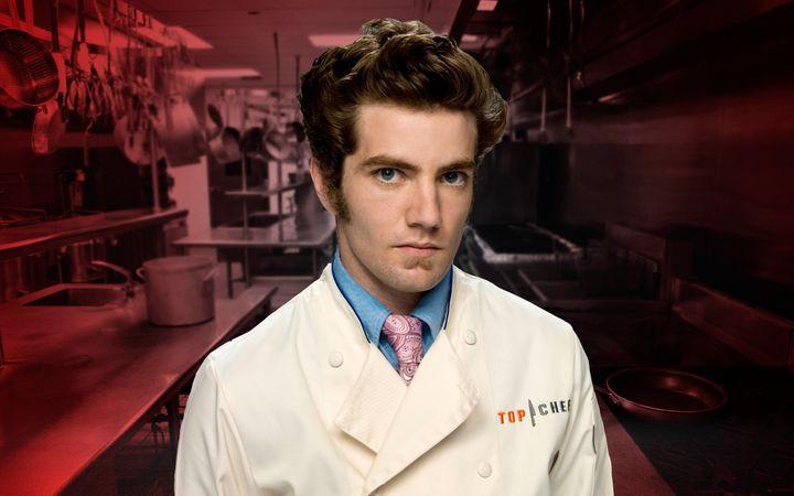 """""""Top Chef"""" Season 2 contestant Marcel Vigneron."""