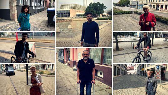 20 Chemnitzer sagen: Wir überlassen den Rechtsextremen nicht unsere