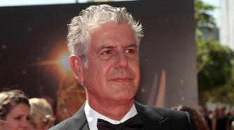 Chef and television personality Anthony Bourdain arrives at the 65th Primetime Creative Arts Emmy Awards in Los Angeles, California September 15, 2013. REUTERS/Jonathan Alcorn (UNITED STATES - Tags: ENTERTAINMENT HEADSHOT)
