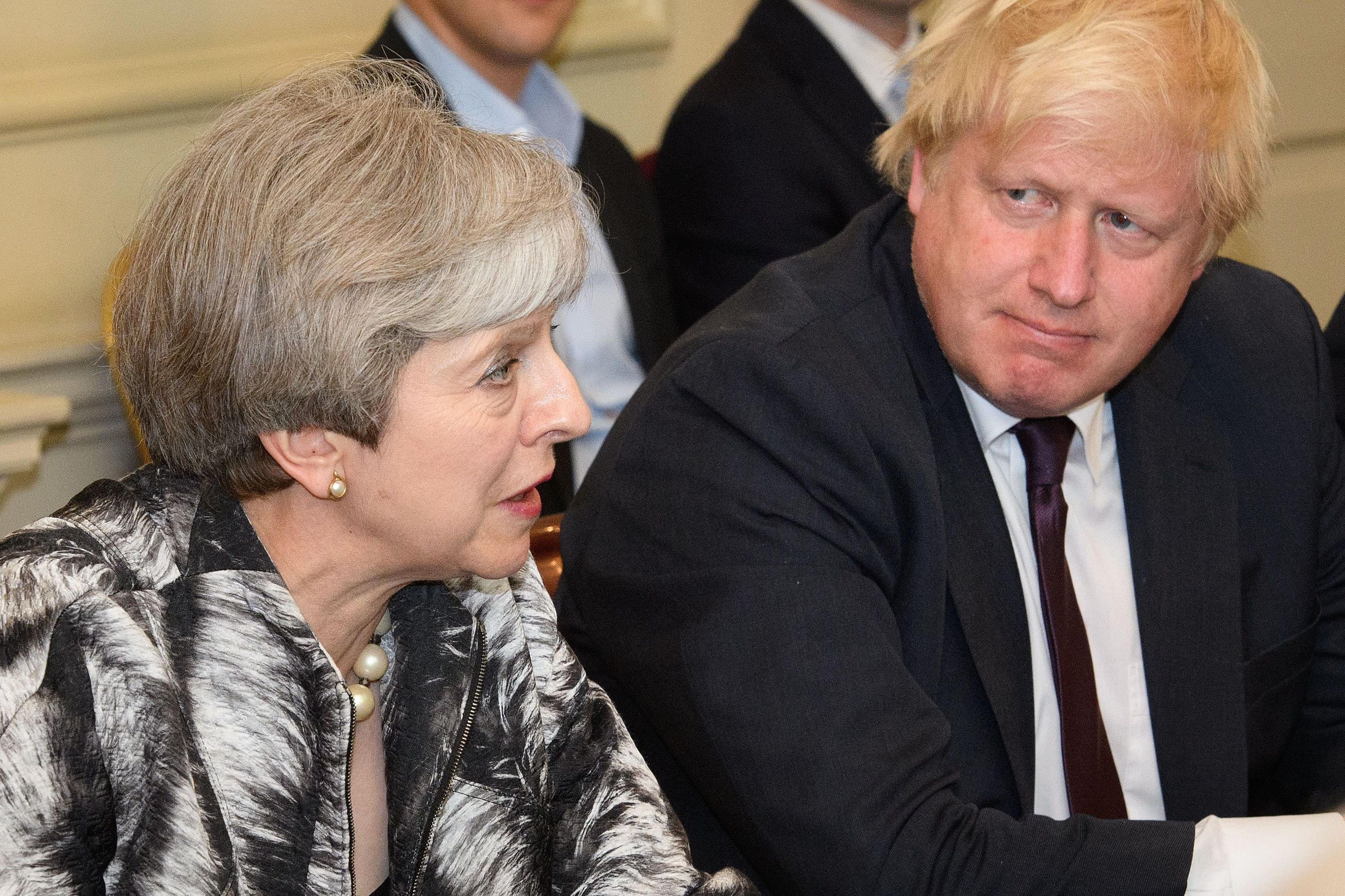 May Vows To Fight Boris Johnson In Any Leadership