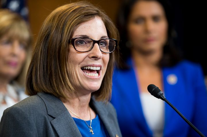 Rep. Martha McSally transformed from swing-district moderate to hardcore Trump supporter over the course of the GOP primary.&