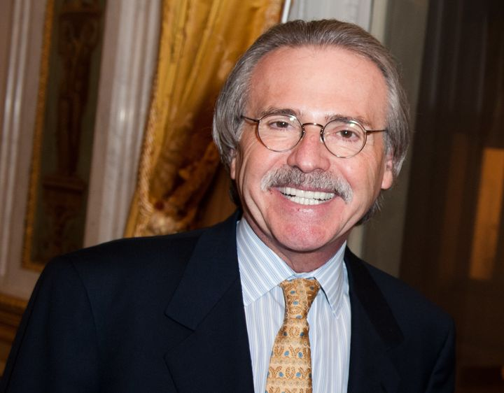 American Media Inc. CEO David Pecker has stepped down from the board of a Canadian media company.