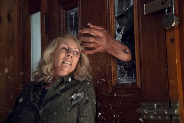 """Jamie Lee Curtis in 2018's """"Halloween."""""""