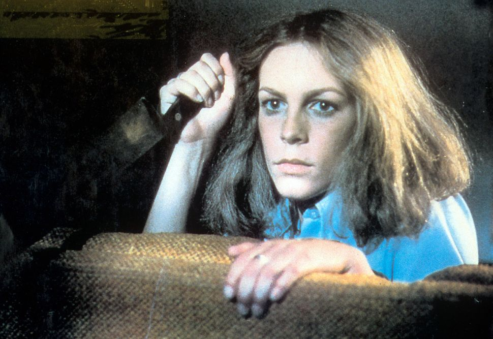 "Jamie Lee Curtis in the original ""Halloween,"" released in 1978."