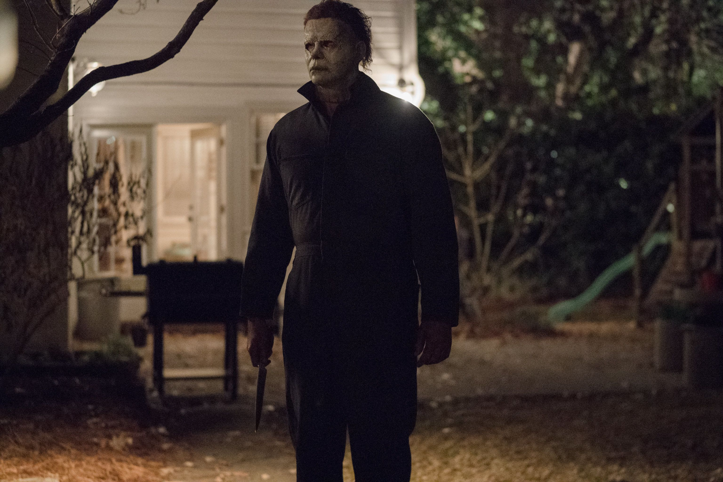 """Michael Myers in the new """"Halloween."""""""