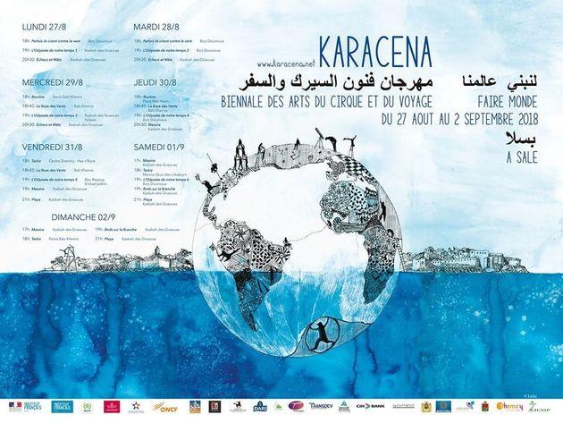 Karacena, la Biennale des arts du cirque et du voyage s'installe à