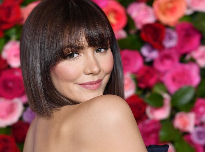 Katharine McPhee at the Tony Awards in New York earlier this year.