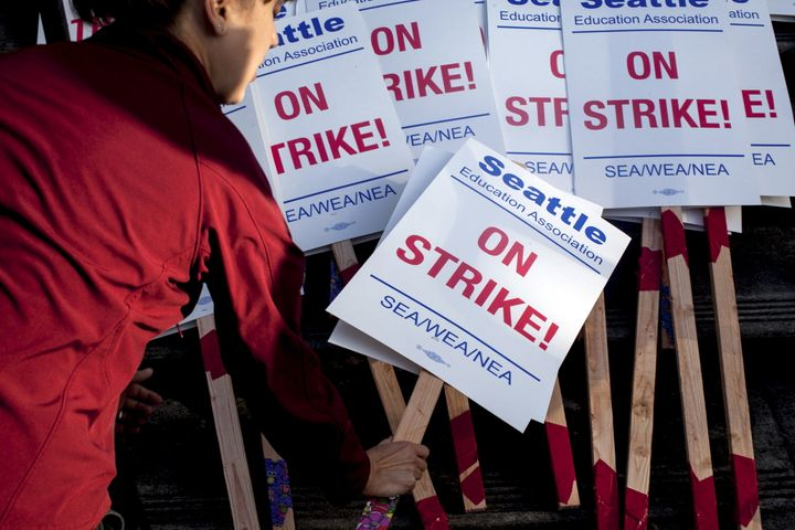 In 2015, a teachers' strike in Seattle delayed the start of the school year for more than 50,000 students.