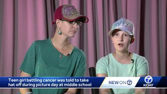 Bella Thurston was diagnosed with ependymoma a brain and spine tumor when she was 5