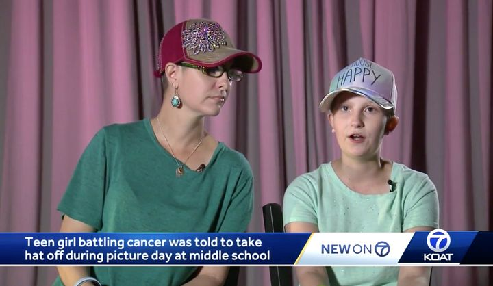 Teen With Cancer Told To Remove Hat For School Picture Day  1231714e0d0