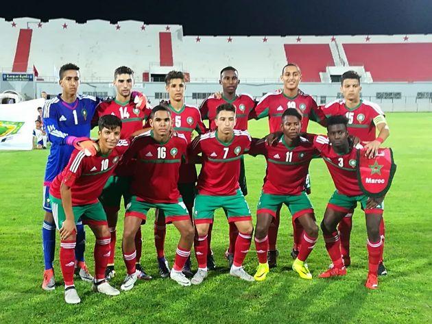 Le Maroc se qualifie pour la CAN 2019 des moins de 17