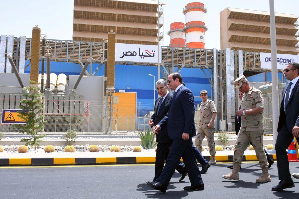 Ο Αιγύπτιος πρόεδρος,...