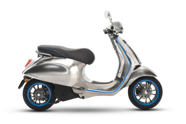 Vespa's Electric Scooter Goes On Sale This