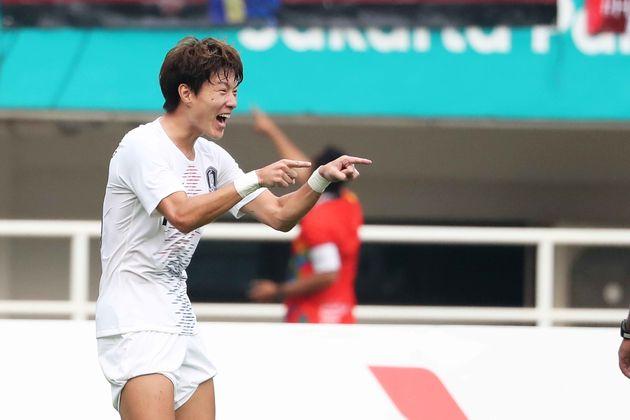 [속보] '이승우 멀티골' 한국이 베트남을 압도하고 결승에