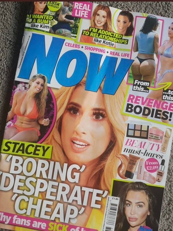 The offending Now magazine