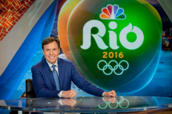 Bob Costas stepped down from hosting the Olympics in 2017.