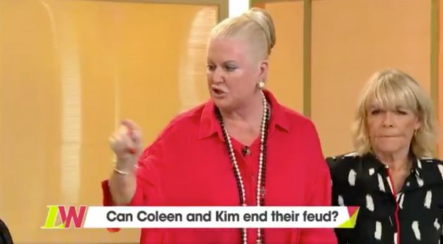 Kim Woodburn launched an attack on Coleen Nolan on 'Loose
