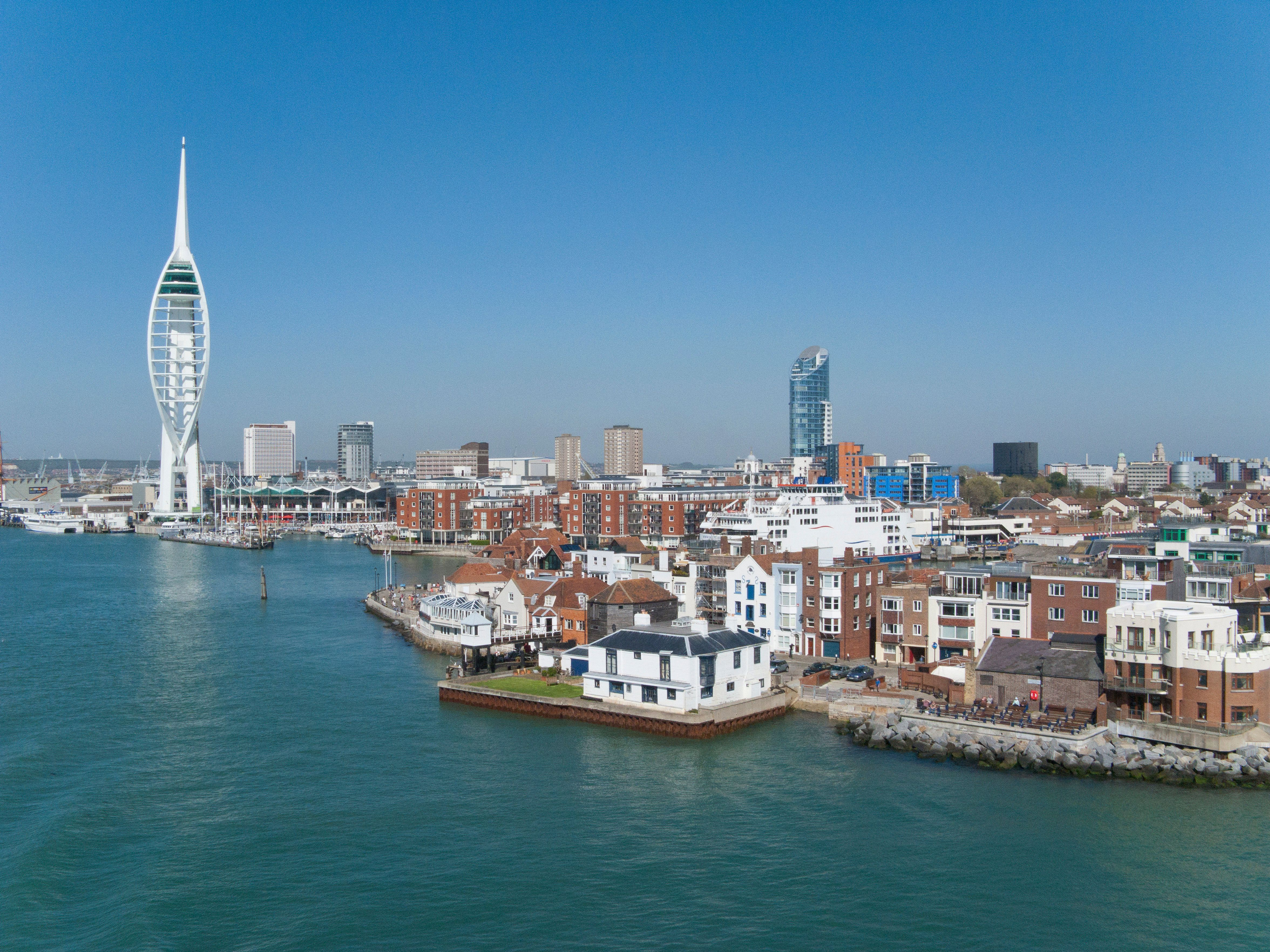 Search For Man 'Overboard' Ferry Near Portsmouth Harbour Called