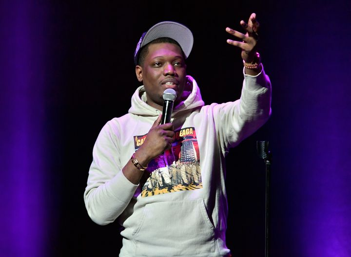 Michael Che performs at the Wilbur Theater in Boston on June 2, 2017. In an Instagram Story on Aug. 28 about Louis C.K.&