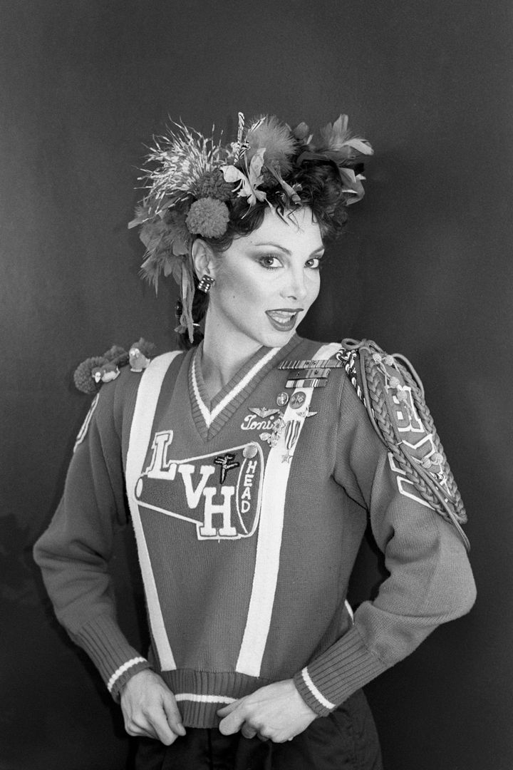 Toni Basil, seen back in the day, can still dance up a storm at age 74, a video circulating on Twitter shows.