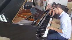 Un piano public installé à l'aéroport Tunis-Cathage pour le plus grand bonheur des mélomanes