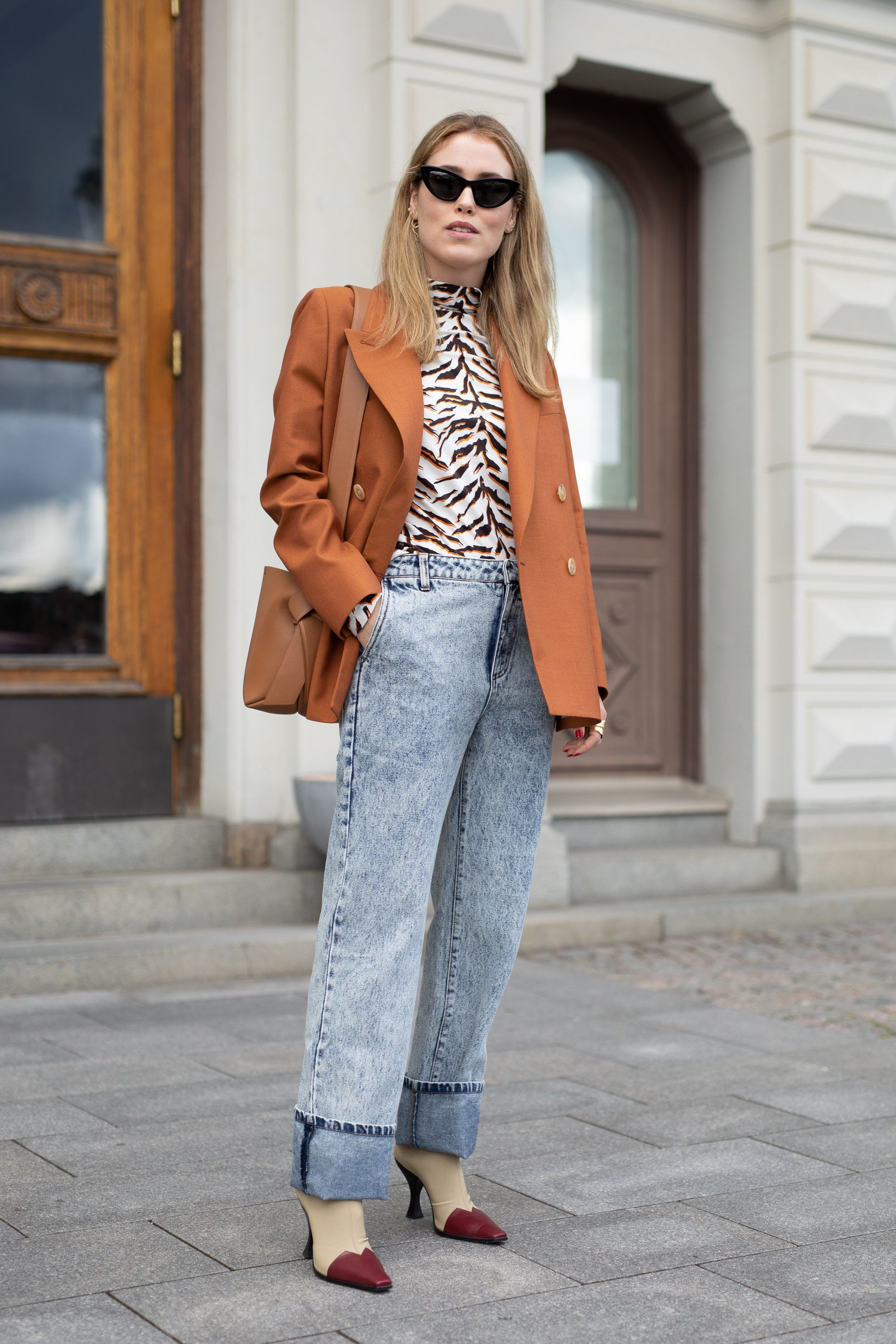 How To Wear Animal Print In Autumn