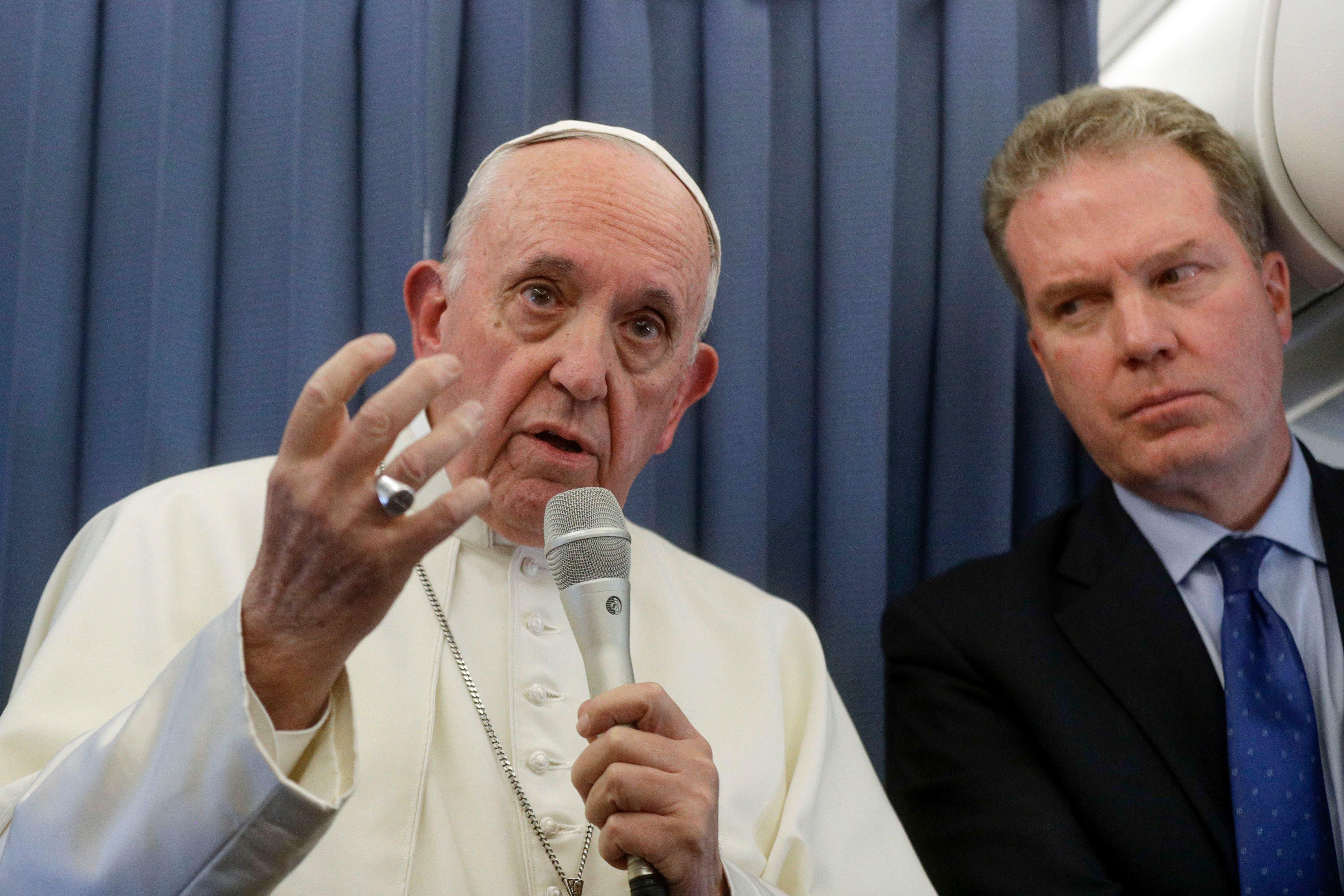 El Papa Francisco acaba de recordarnos lo que la iglesia todavía piensa de la
